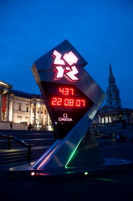 Countdown für die Olympiade 2012