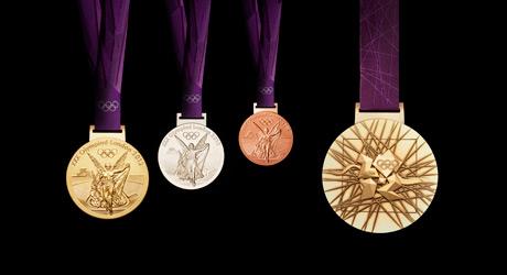 Olympische Medaillen 2012