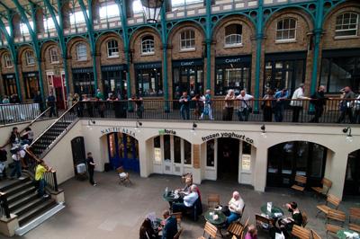 Covent Garden: vom Afternoon-Tea über Künstler bis zur Eiscreme finden Sie hier alles