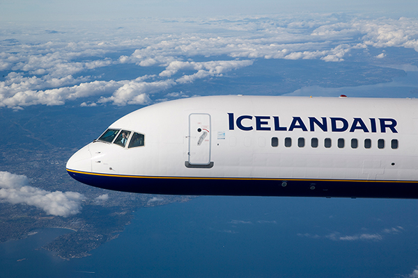 Icelandair fliegt jetzt noch öfters nach N. Y.
