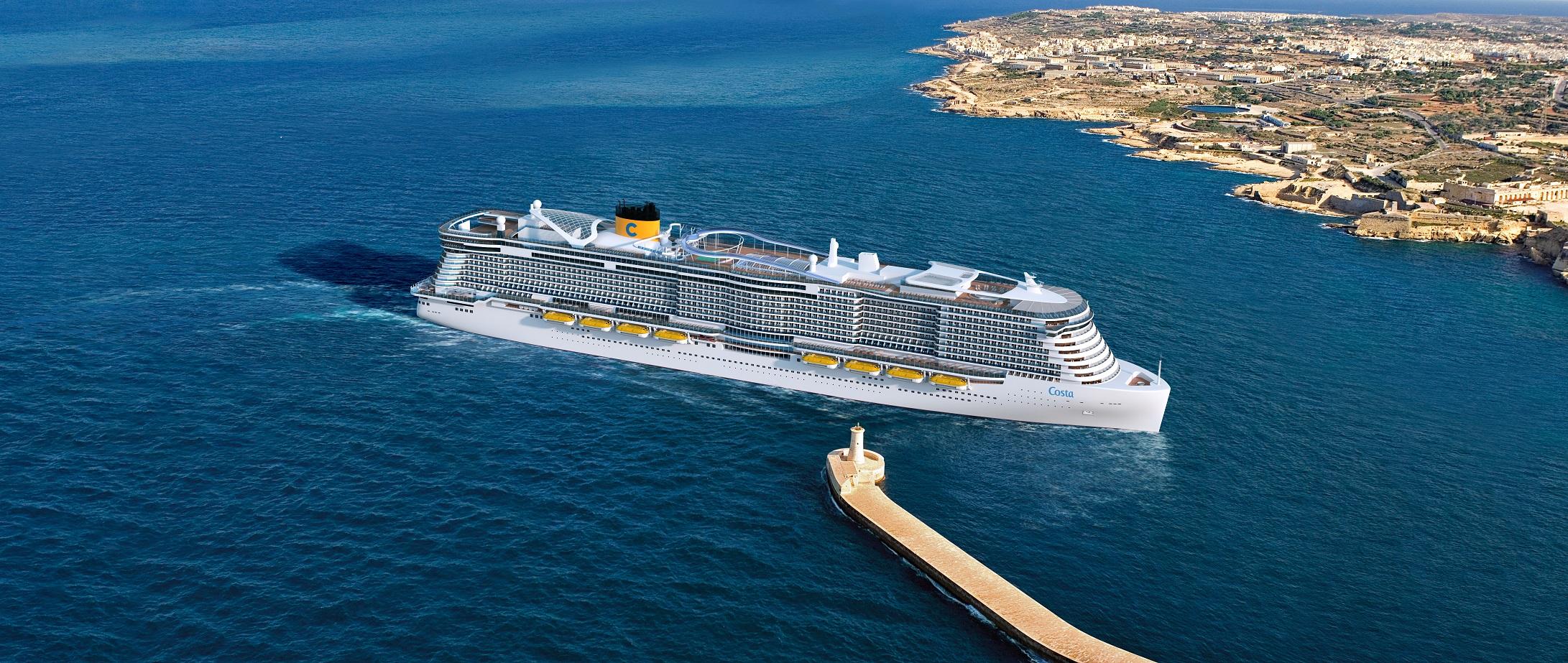 Costa Crociere erhält zwei neue Kreuzfahrtschiffe